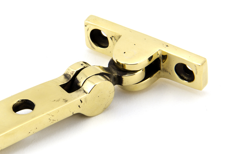 Aged Brass 10'' Avon Stay Image 2