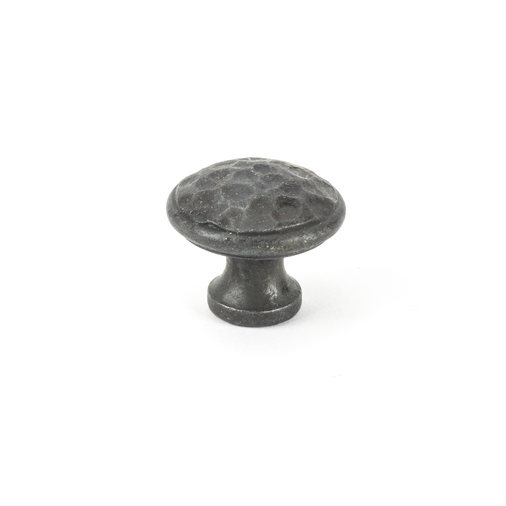 From The Anvil Beeswax Hammered Cabinet Knob - Medium 33197 Image 1