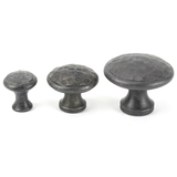 From The Anvil Beeswax Hammered Cabinet Knob - Large 33198 Image 3 Thumbnail