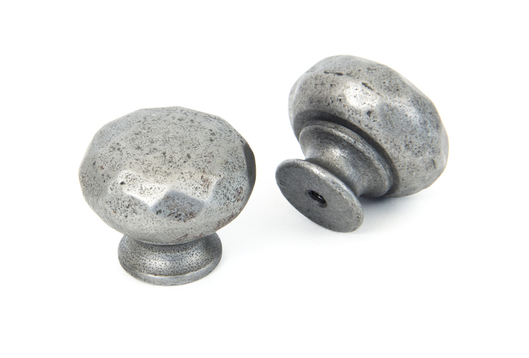 From The Anvil Natural Smooth Elan Cabinet Knob - Small 33360 Image 3