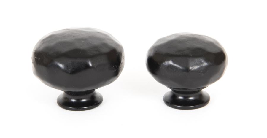 From The Anvil Black Elan Cabinet Knob - Large 33363 Image 2