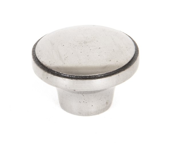 From The Anvil Natural Smooth Ribbed Cabinet Knob 33365 Image 1