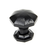 From The Anvil Black Octagonal Cabinet Knob - Small 33372 Image 1 Thumbnail