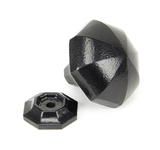 From The Anvil Black Octagonal Cabinet Knob - Large 33373 Image 2 Thumbnail