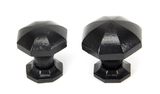 From The Anvil Black Octagonal Cabinet Knob - Large 33373 Image 3 Thumbnail
