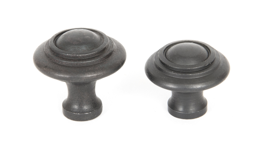 From The Anvil Beeswax Ringed Cabinet Knob - Large 33380 Image 3