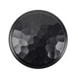 From The Anvil Black Hammered Cabinet Knob - Large 33993 Image 2 Thumbnail