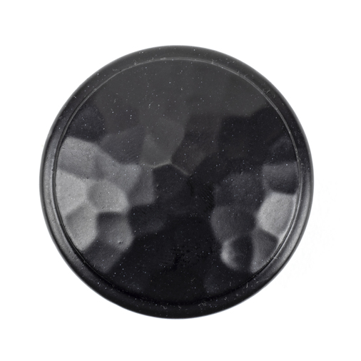 From The Anvil Black Hammered Cabinet Knob - Large 33993 Image 2