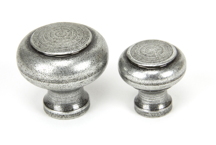 From The Anvil Pewter Regency Cabinet Knob - Large 45150 Image 4