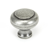 From The Anvil Pewter Regency Cabinet Knob - Large 45150 Image 1 Thumbnail
