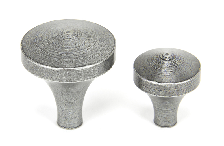 From The Anvil Pewter Shropshire Cabinet Knob - Small 45211 Image 4