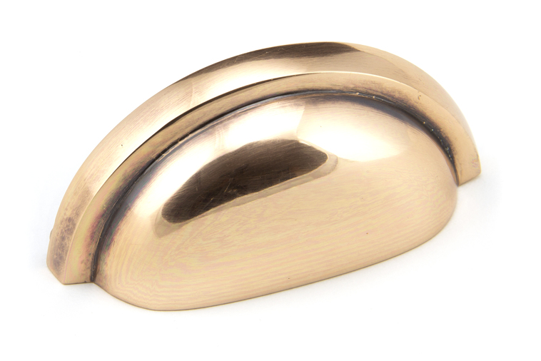 From The Anvil Polished Bronze Regency Concealed Drawer Pull 45409 Image 1