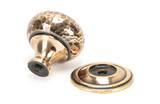 From The Anvil Polished Bronze Hammered Mushroom Cabinet Knob 32mm 46025 Image 2 Thumbnail