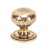 From The Anvil Polished Bronze Hammered Mushroom Cabinet Knob 32mm 46025 Image 1 Thumbnail