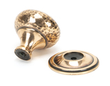 From The Anvil Polished Bronze Hammered Mushroom Cabinet Knob 38mm 46030 Image 2 Thumbnail