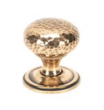 From The Anvil Polished Bronze Hammered Mushroom Cabinet Knob 38mm 46030 Image 1 Thumbnail