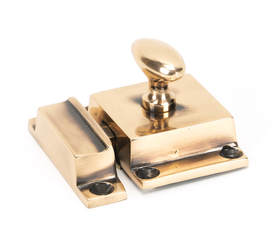 From The Anvil Polished Bronze Cabinet Latch 46050 Image 1