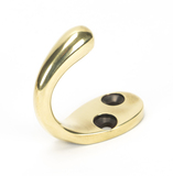 From The Anvil Aged Brass Celtic Single Robe Hook 46303 Image 1 Thumbnail