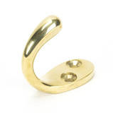 From The Anvil Polished Brass Celtic Single Robe Hook 46308 Image 1 Thumbnail