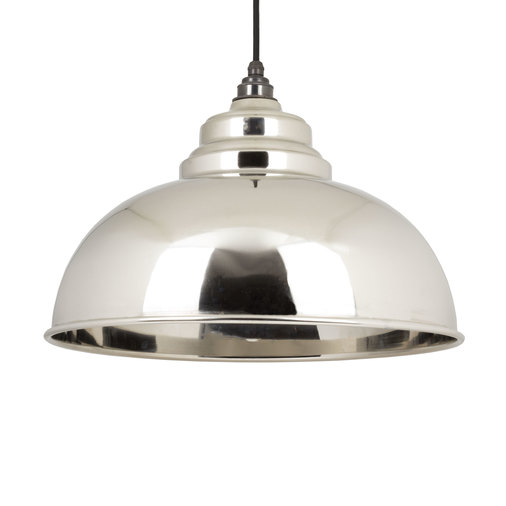 From the Anvil Smooth Nickel Harborne Pendant 49505 Image 1