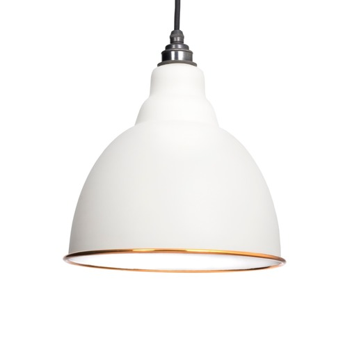 From The Anvil The Brindley Pendant in Oatmeal 49507M Image 1