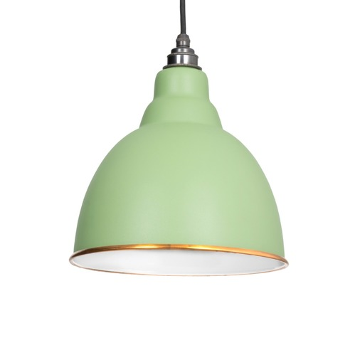 From The Anvil The Brindley Pendant in Sage Green 49507SG Image 1
