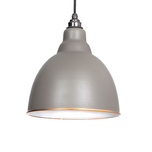From The Anvil The Brindley Pendant in Warm Grey 49507WG Image 1