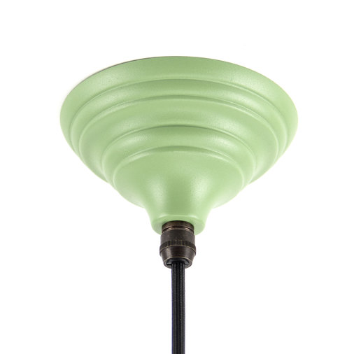 From The Anvil The Harborne Pendant in Sage Green 49508SG Image 2