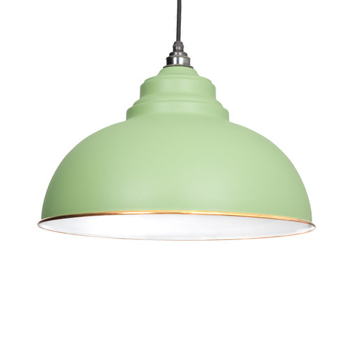 From The Anvil The Harborne Pendant in Sage Green 49508SG Image 1