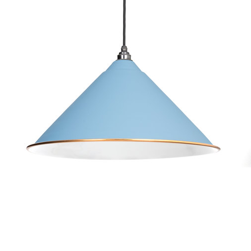 From The Anvil The Hockley Pendant in Pale Blue 49510PB Image 1