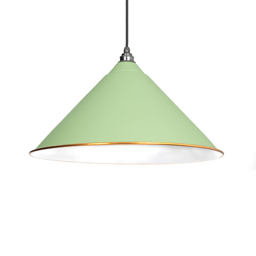 From The Anvil The Hockley Pendant in Sage Green 49510SG Image 1