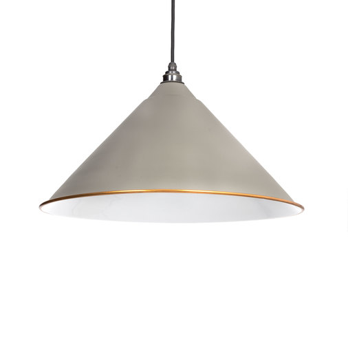 From The Anvil The Hockley Pendant in Warm Grey 49510WG Image 1