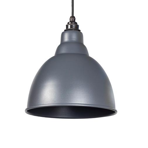 From the Anvil Dark Grey Full Colour Brindley Pendant 49514DG Image 1