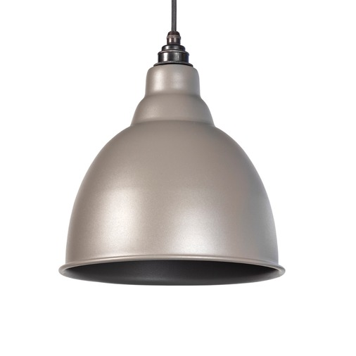 From The Anvil Warm Grey Full Colour Brindley Pendant 49514WG Image 1