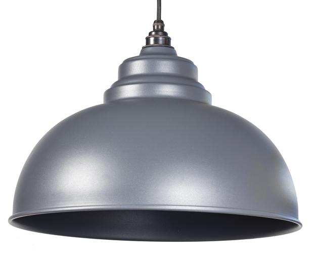 From The Anvil Dark Grey Full Colour Harborne Pendant 49515DG Image 1