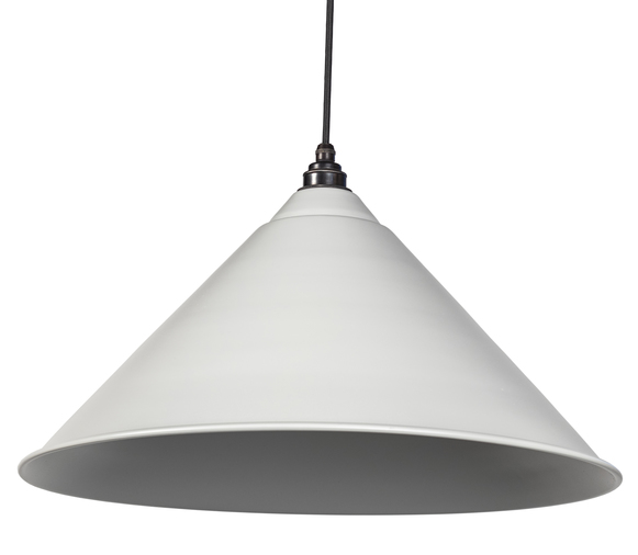 From The Anvil Light Grey Full Colour Hockley Pendant 49520LG Image 1