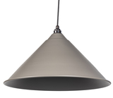 From The Anvil Warm Grey Full Colour Hockley Pendant 49520WG Image 1 Thumbnail