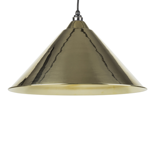 From The Anvil Smooth Brass Hockley Pendant 49524 Image 1