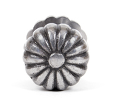 From The Anvil Natural Smooth Flower Cabinet Knob - Large 83510 Image 2 Thumbnail