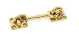From The Anvil Polished Brass 3 Inch Cabin Hook 83549 Image 1 Thumbnail