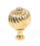 From The Anvil Polished Brass Spiral Cabinet Knob - Medium 83551 Image 1 Thumbnail