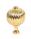 From The Anvil Polished Brass Spiral Cabinet Knob - Large 83552 Image 1 Thumbnail