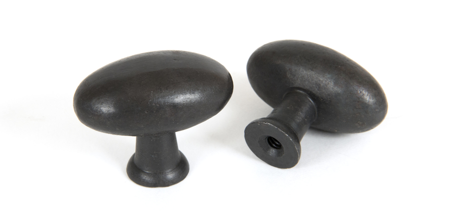 From The Anvil Beeswax Oval Cabinet Knob 83791 Image 1