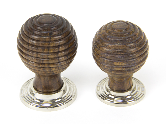 From The Anvil Rosewood and PN Beehive Cabinet Knob 38mm 83874 Image 3