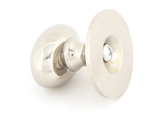 From The Anvil Polished Nickel Oval Cabinet Knob 40mm 83880 Image 2 Thumbnail