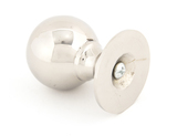 From The Anvil Polished Nickel Ball Cabinet Knob 39mm 83882 Image 2 Thumbnail