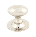 From The Anvil Polished Nickel Oval Cabinet Knob 33mm 83886 Image 1 Thumbnail