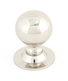 From The Anvil Polished Nickel Ball Cabinet Knob 31mm 83888 Image 1 Thumbnail