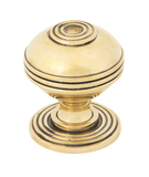 From The Anvil Aged Brass Prestbury Cabinet Knob 38mm 83896 Image 1 Thumbnail