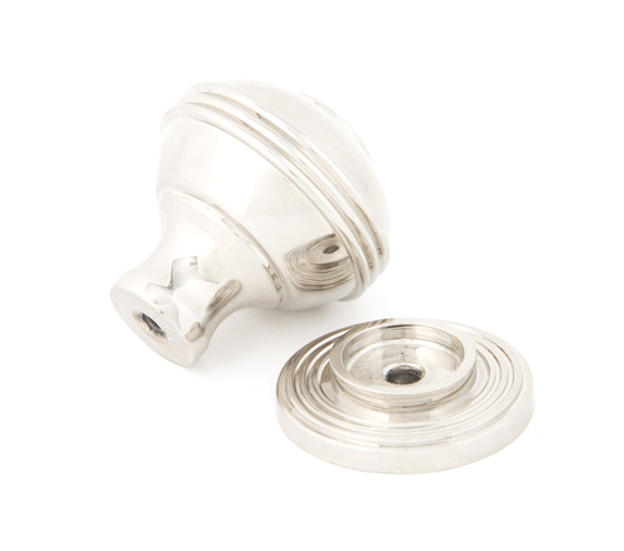 From The Anvil Polished Nickel Prestbury Cabinet Knob 32mm 83897 Image 2